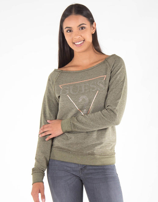Guess Burnout Active Sweatshirt