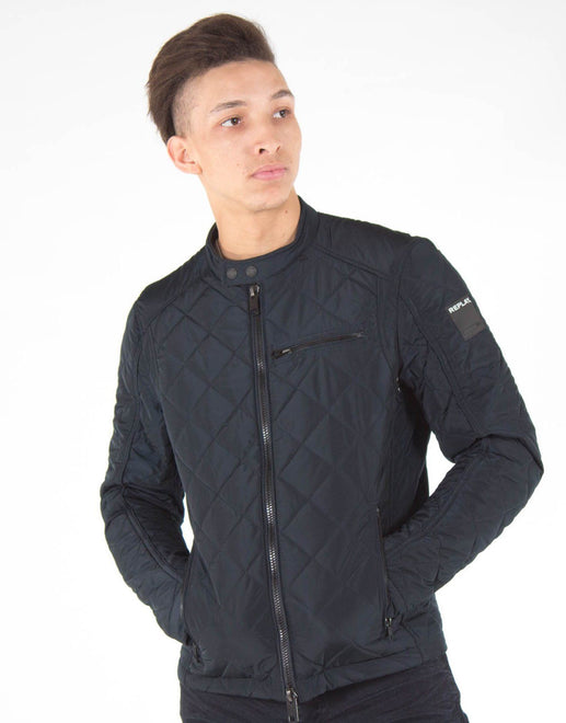 Replay Quilted Bomber Jacket