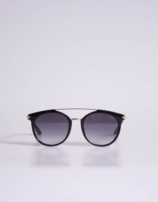 Guess Retro Silver Trim Sunglasses - Subwear