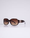 Guess Bronze Logo Trim Sunglasses - Subwear
