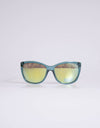 Guess Green And Yellow Sunglasses - Subwear