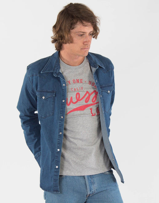 Levi's Barstow Blue Western Shirt