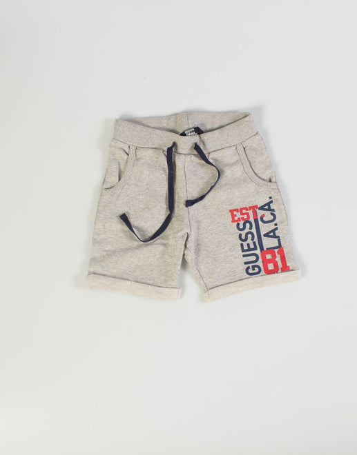 Guess Kids Heather Jogger Shorts