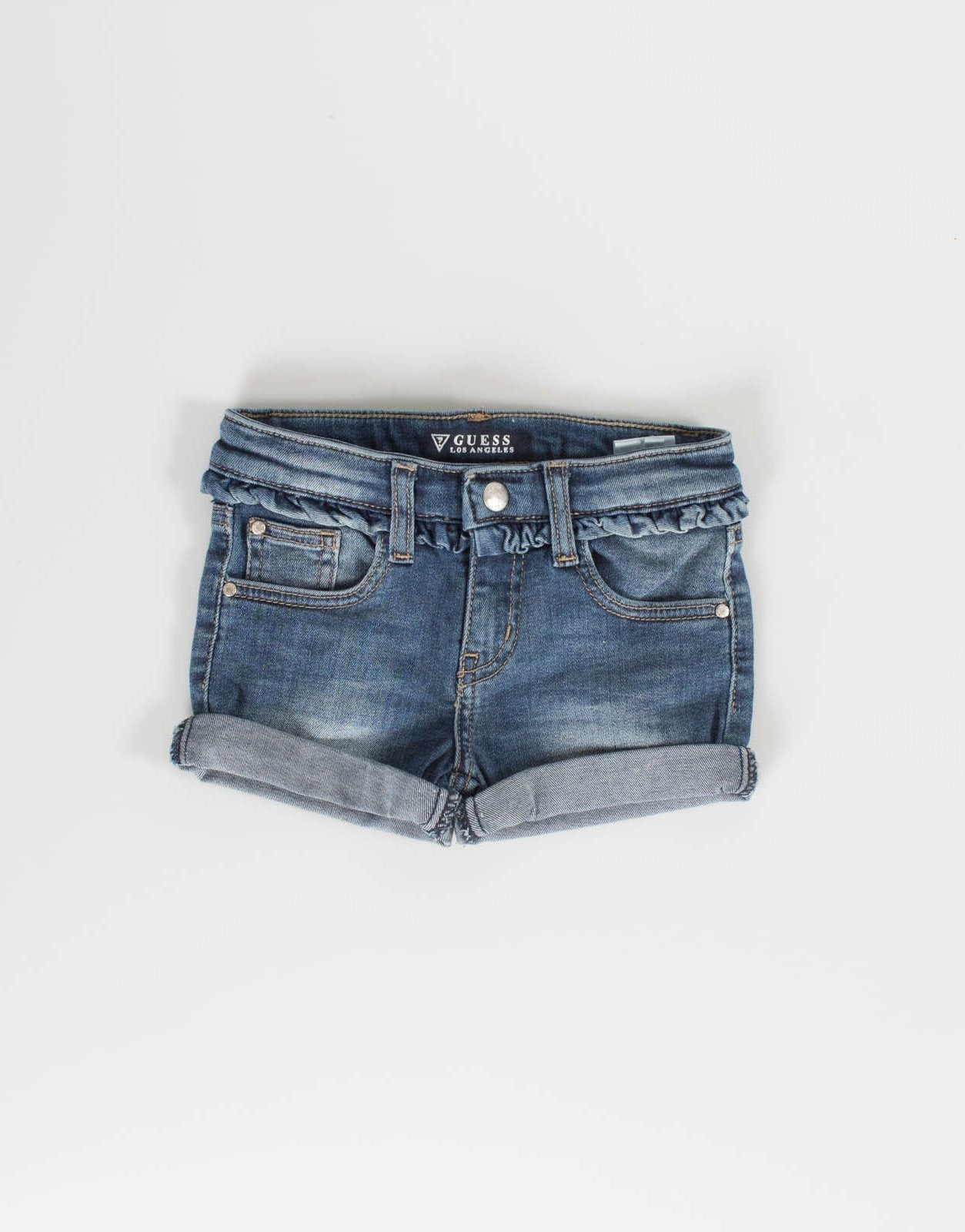 Guess Girls Mid Wash Shorts  c52c0602dfd7c