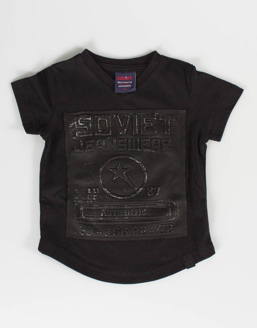 Soviet Boys Black T-Shirt