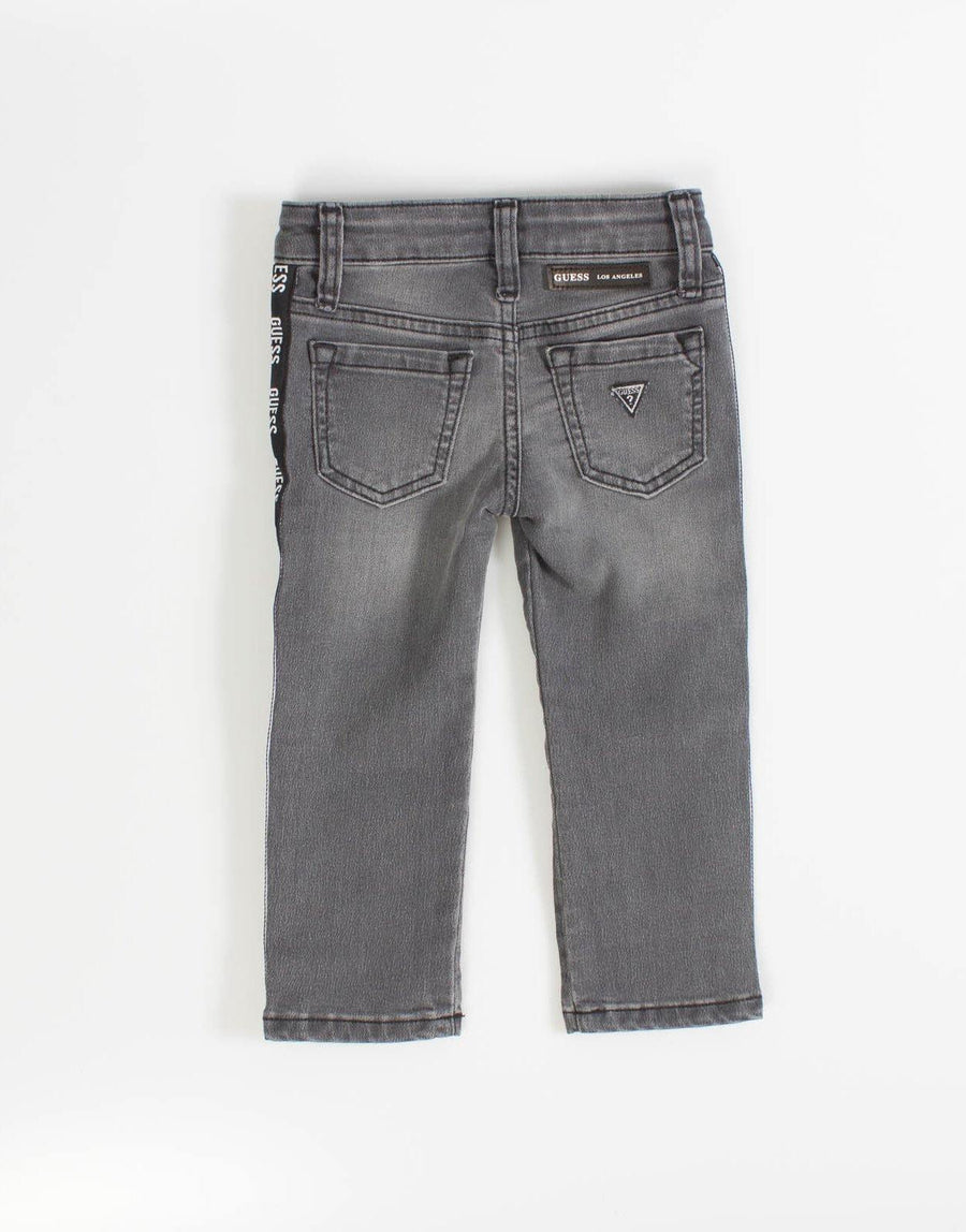 Guess Kids Boys Grey Skinny Jeans - Subwear