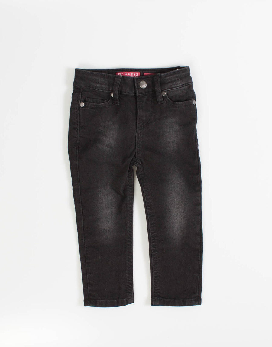 Guess Kids Boys Black Skinny Jeans - Subwear