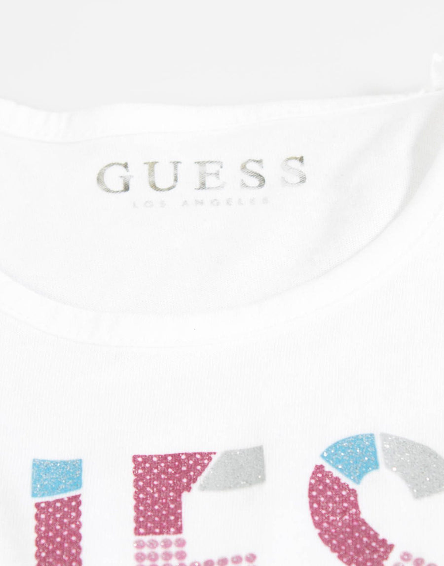 Guess Kids Girls Loose Fit T-Shirt - Subwear