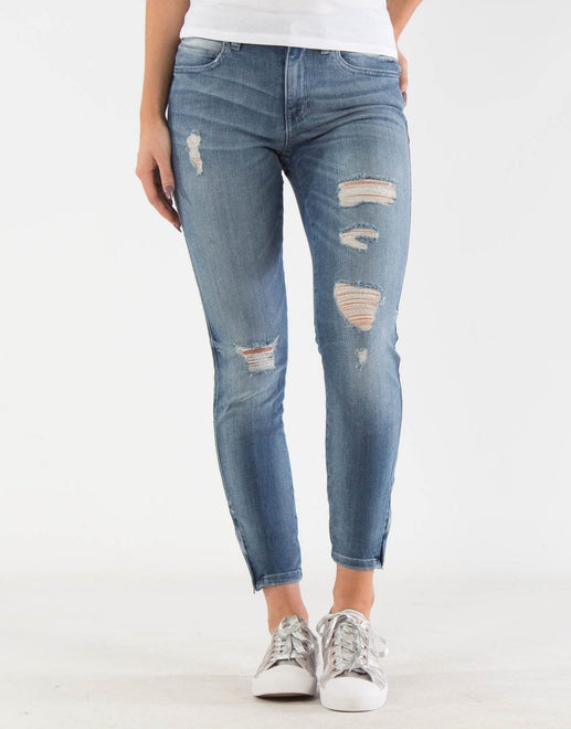 Guess Super Bleached Mid Rise Jeans