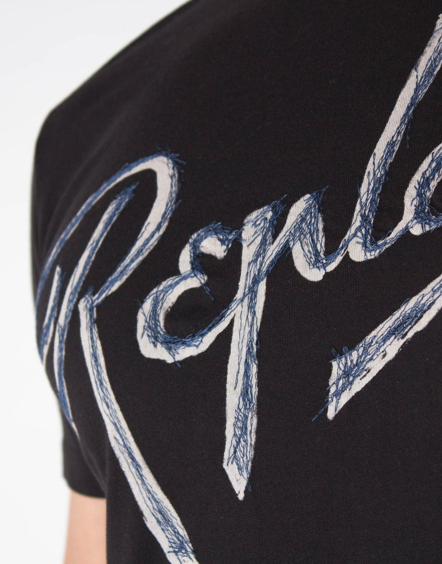 Replay Stitched Logo T-Shirt