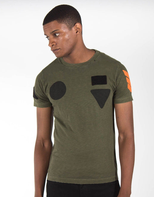 Replay Mil Patch T-Shirt