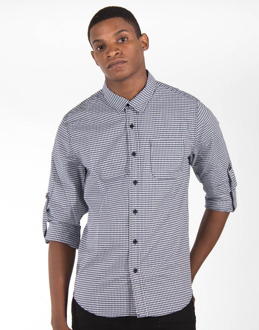 Guess Gingham Check Shirt
