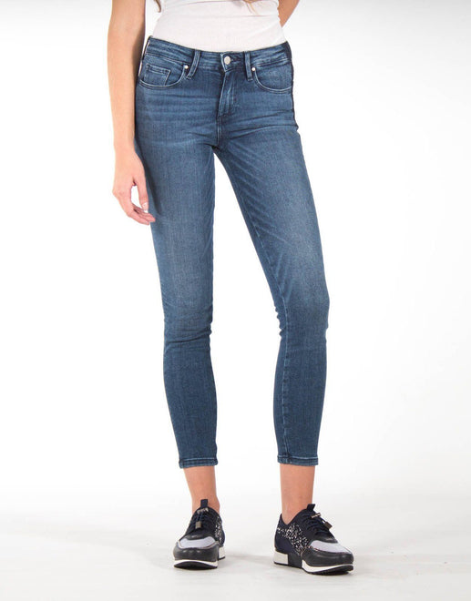 Guess Mid Rise Skinny Diamante Jeans