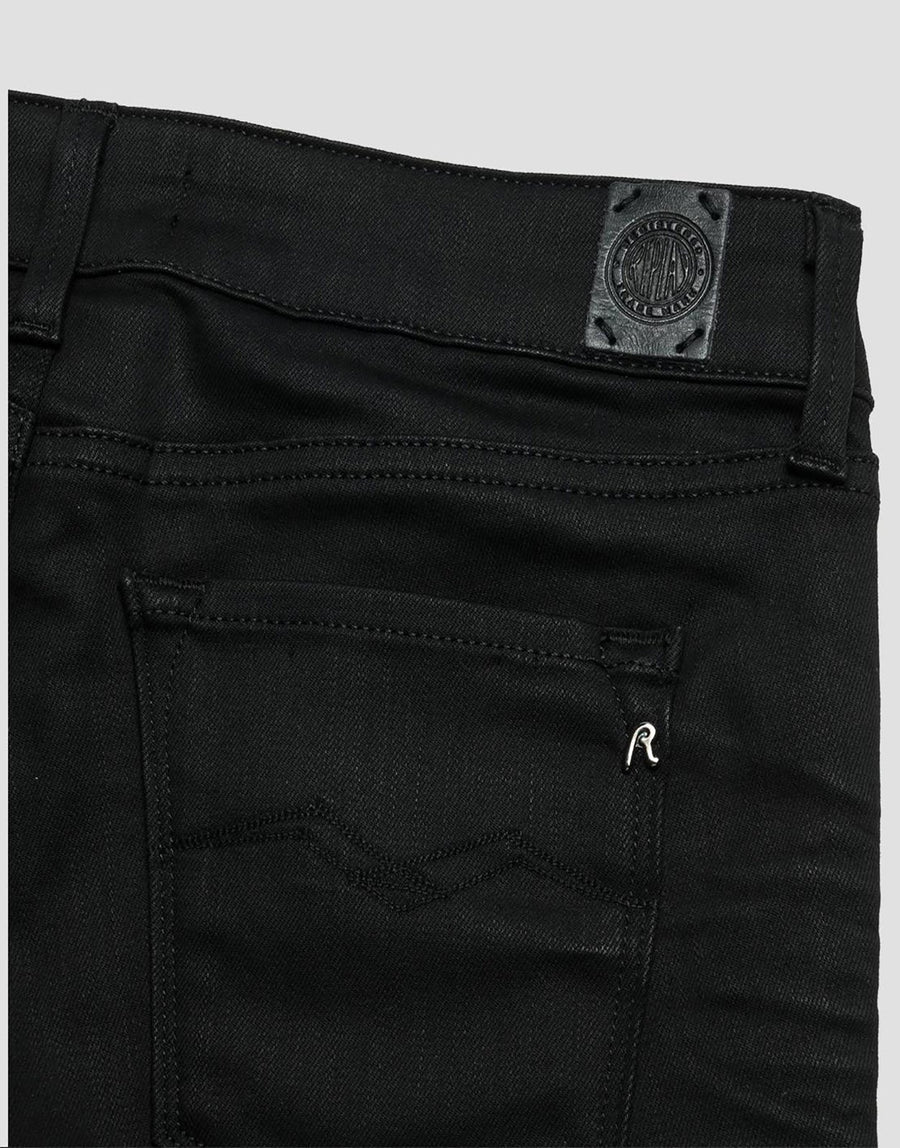 Replay Luz Black Hyperflex Jean