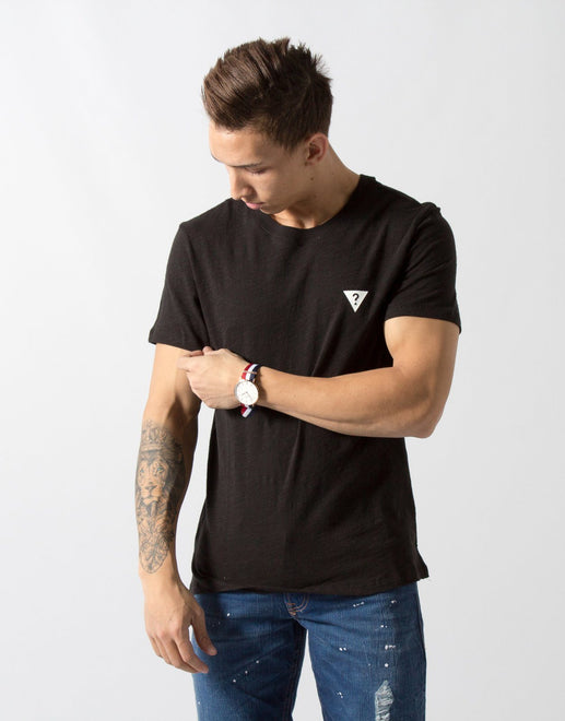 Guess Hi Low Black T-Shirt