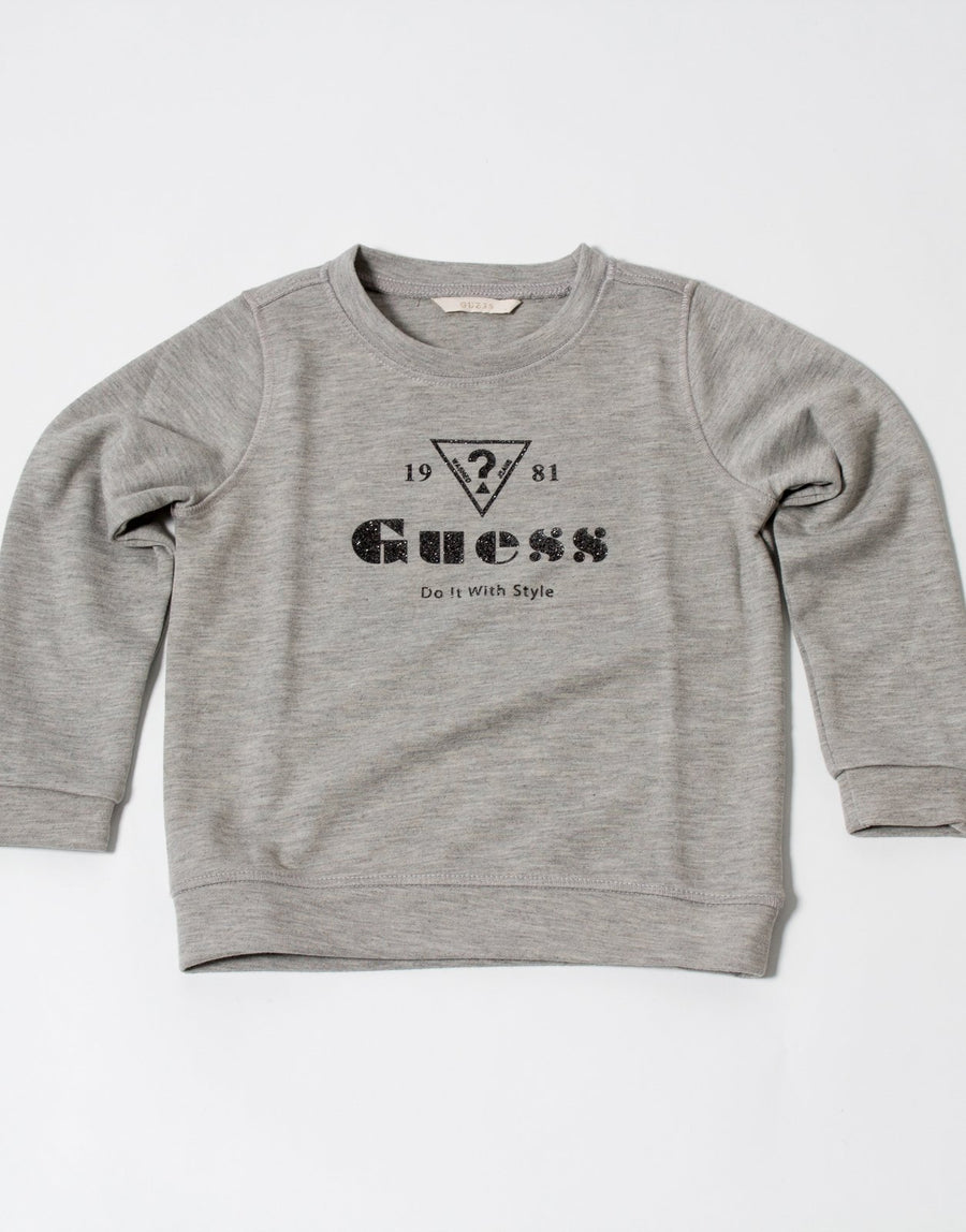 Guess Grey Girls Track Top - Subwear