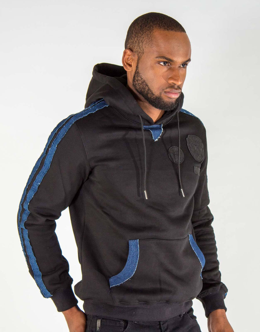 Vialli Black/Denim Hoody