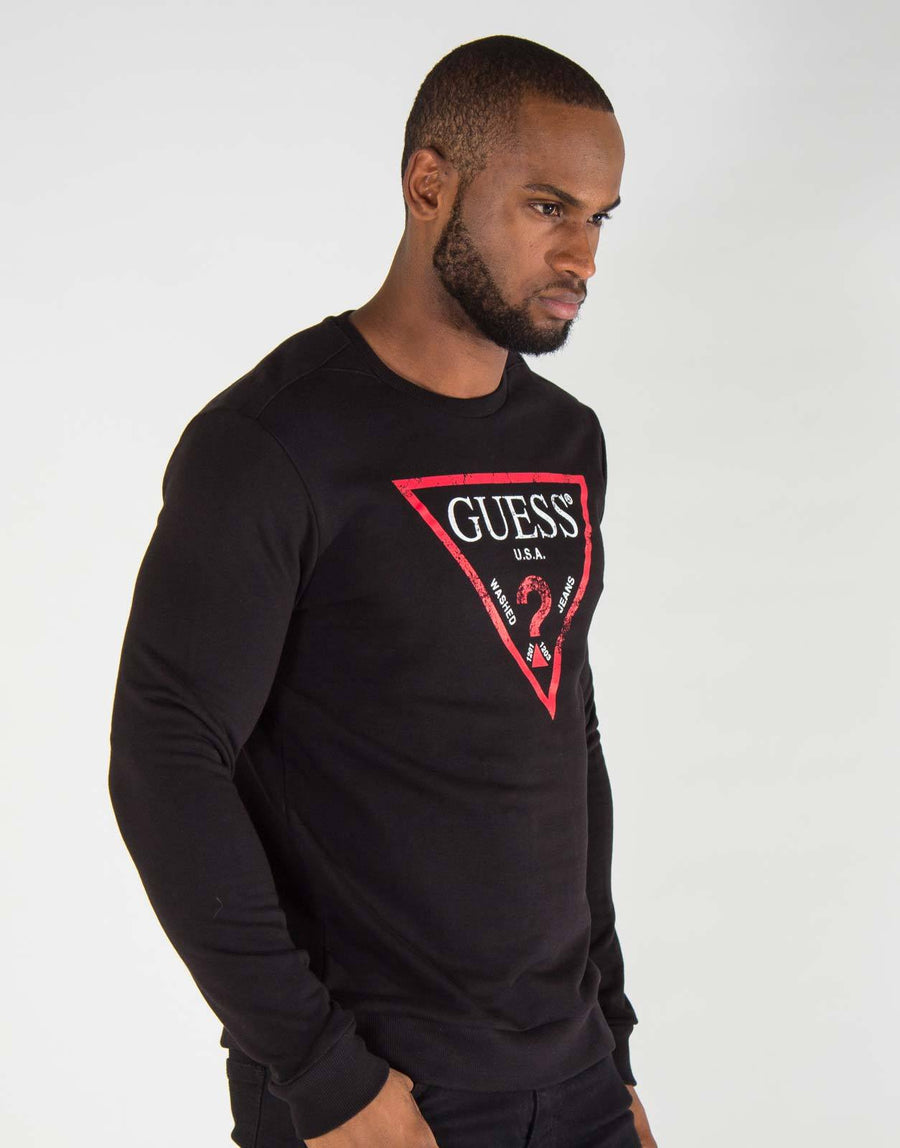 Guess Black L/S T-Shirt