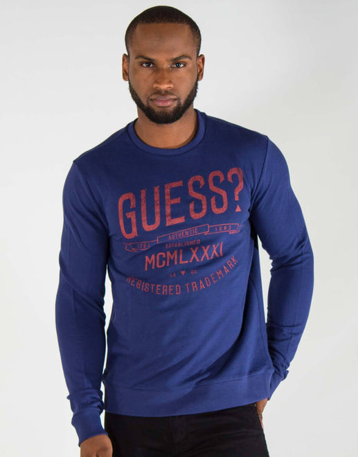 Guess Sweatshirt Blue