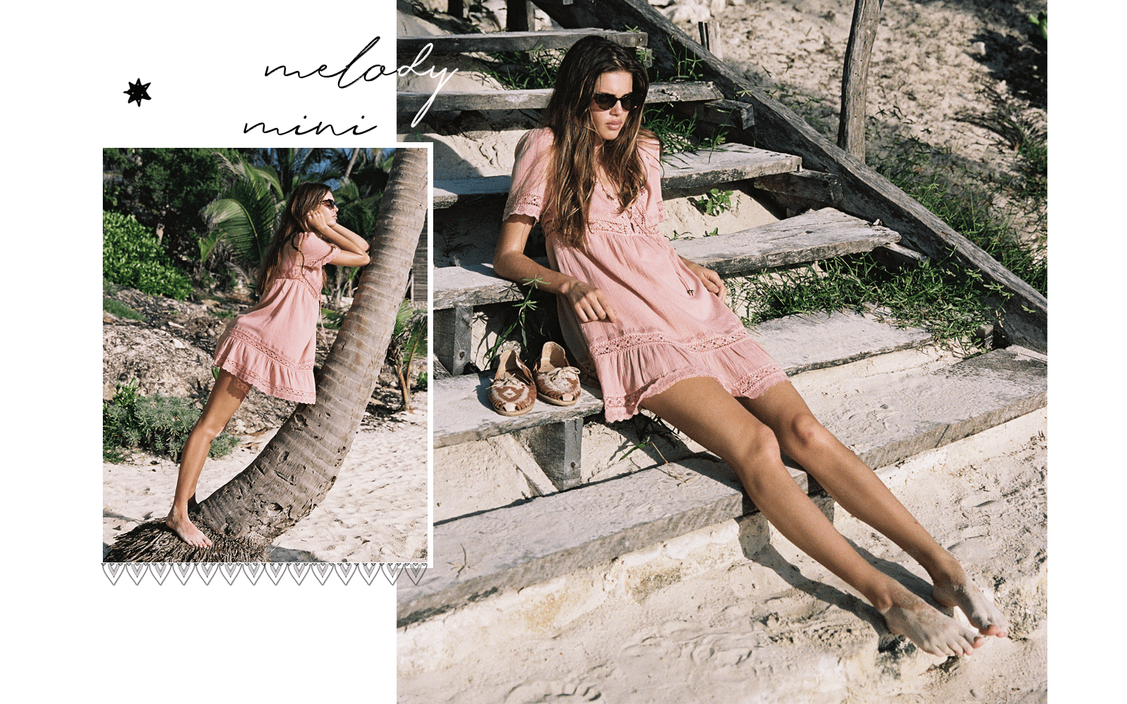 Arnhem Melody Mini Dress - Pink