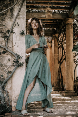 Bird & Kite Francesca Dress // Petals Sage