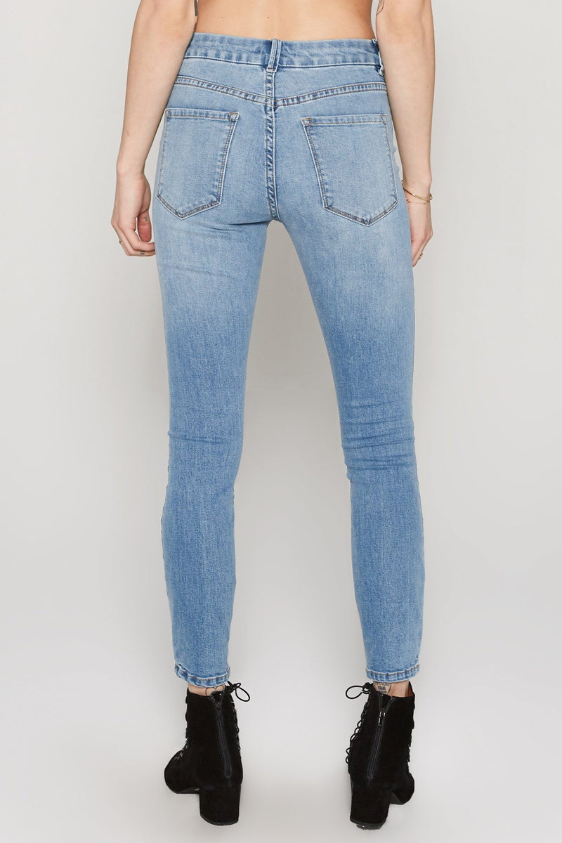 Amuse Society Soho Pant // Wash Blue - Siren & Muse