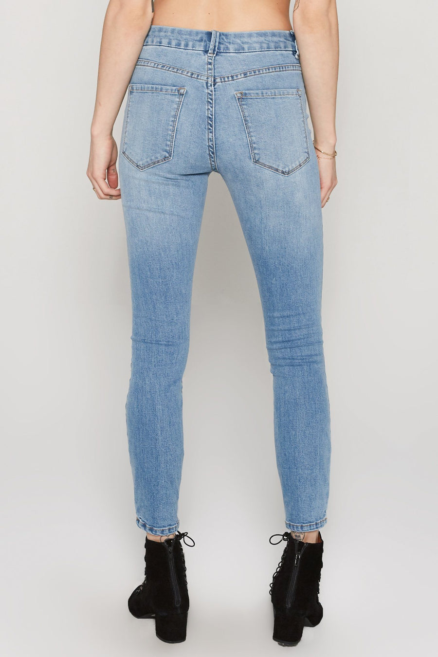 Soho Pant - Wash Blue