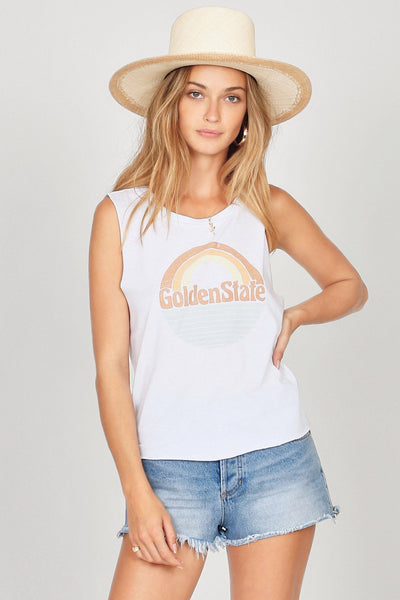 Amuse Society Skinny Dip Muscle Tank - Siren & Muse