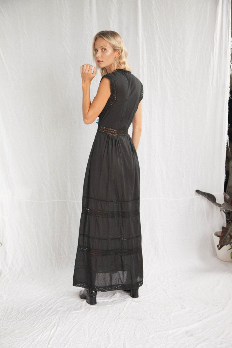 Kinga Csilla The Edda Maxi // Black