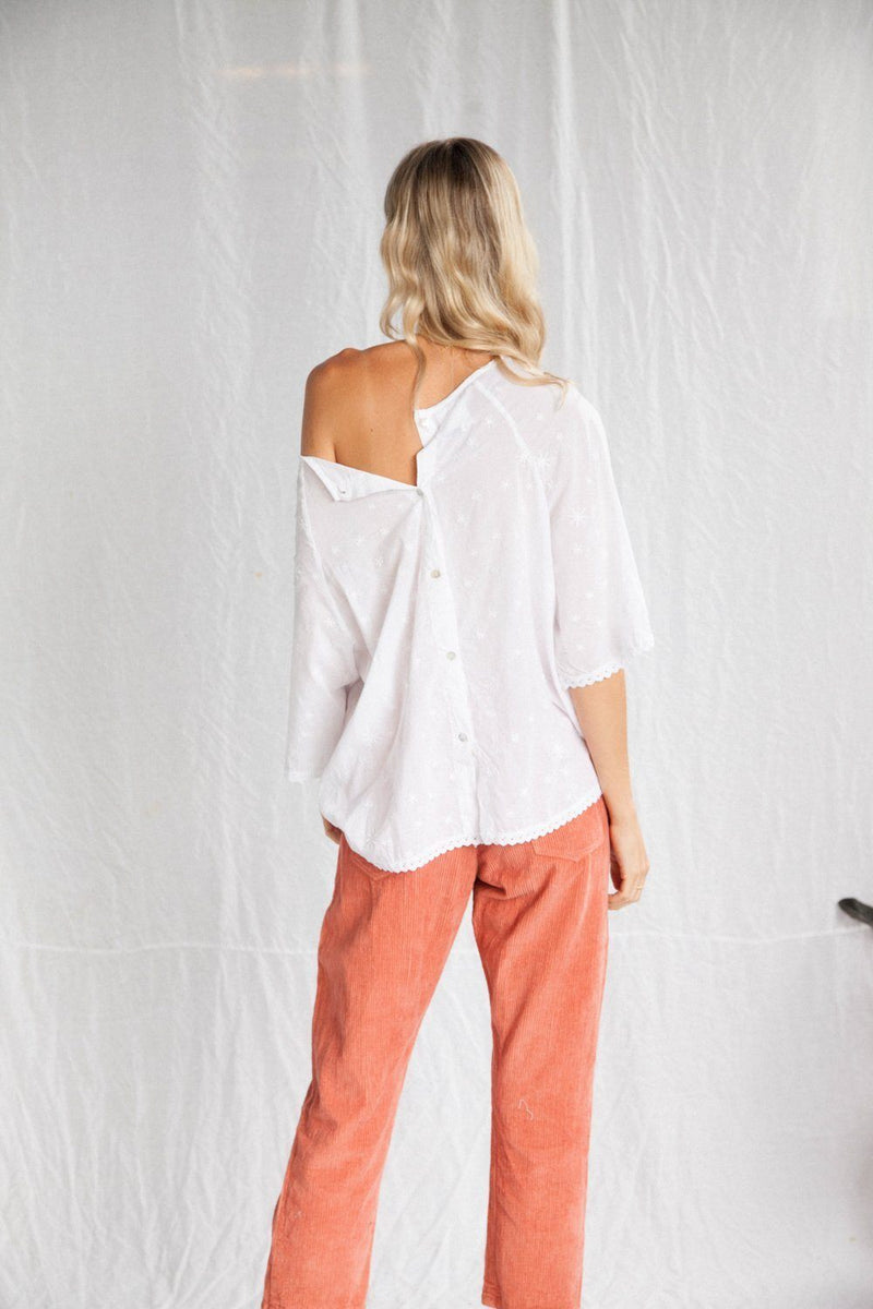 Kinga Csilla The Stella Blouse // White