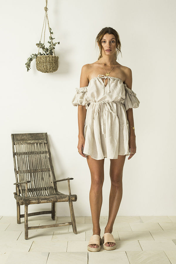 Bird & Kite Maeve Dress // Natural