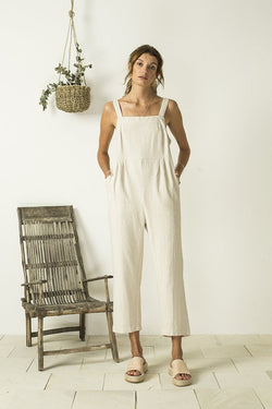 Bird & Kite Kylo Jumpsuit // Oatmeal