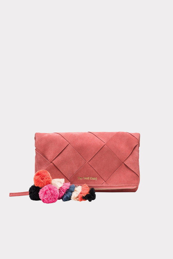 The Wolf Gang Tejer Woven Clutch // Rose - Siren & Muse