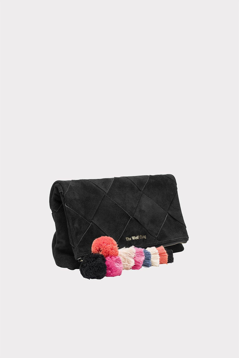 The Wolf Gang Tejer Woven Clutch // Noir - Siren & Muse