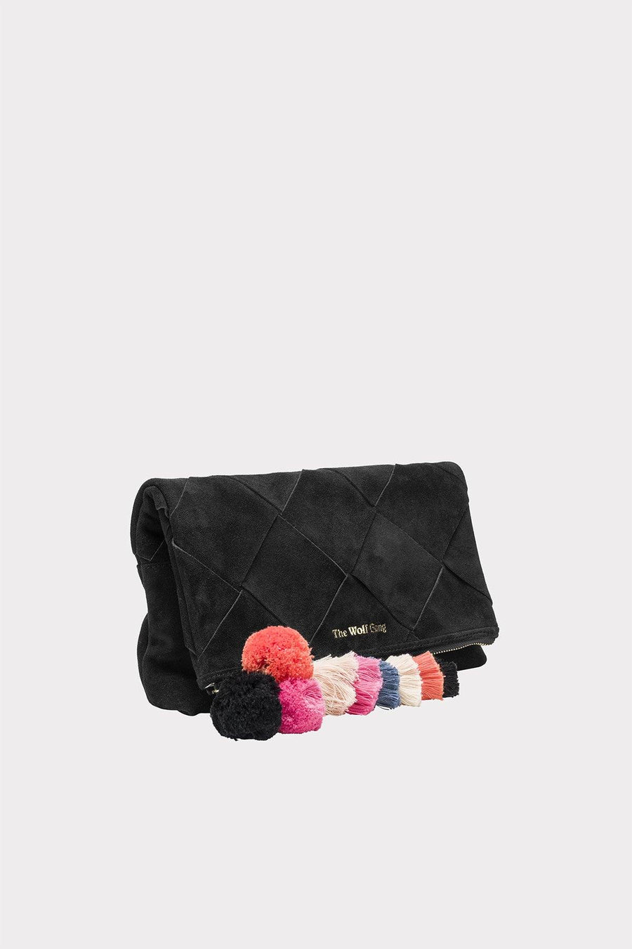The Wolf Gang Tejer Woven Clutch - Noir - Siren & Muse
