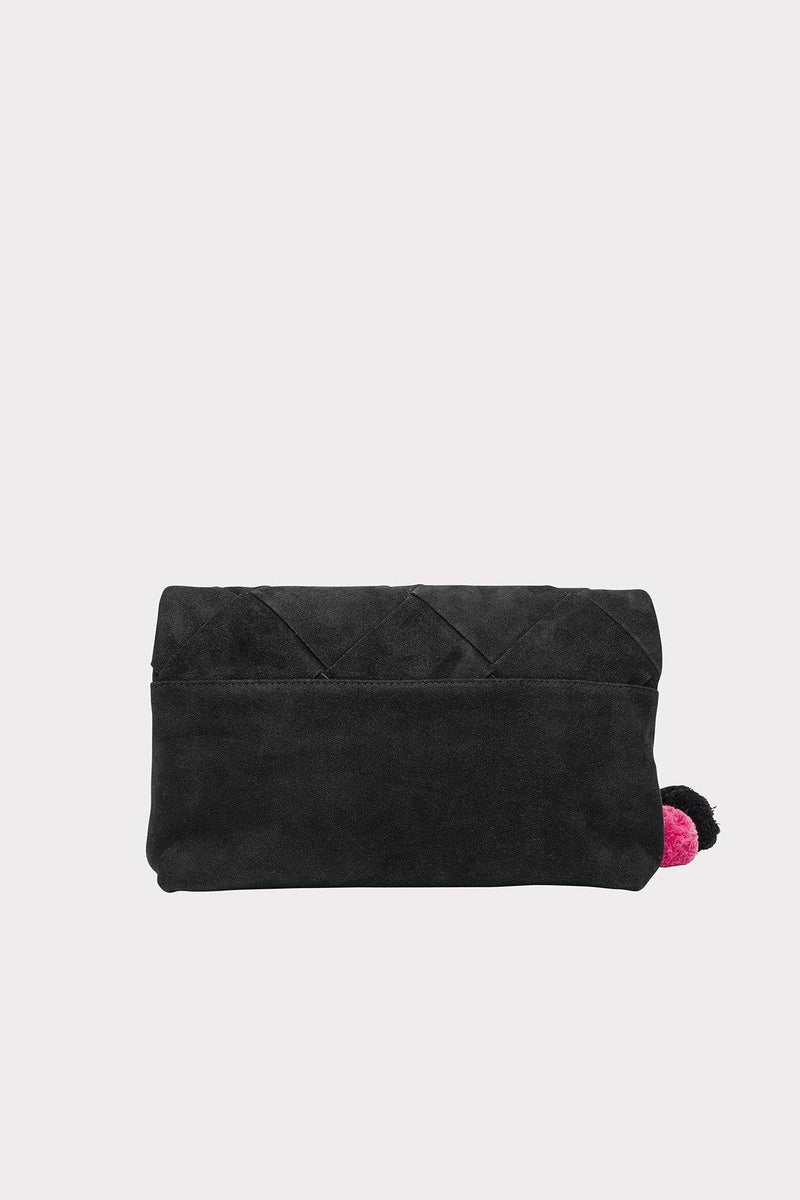 The Wolf Gang Tejer Woven Clutch // Noir