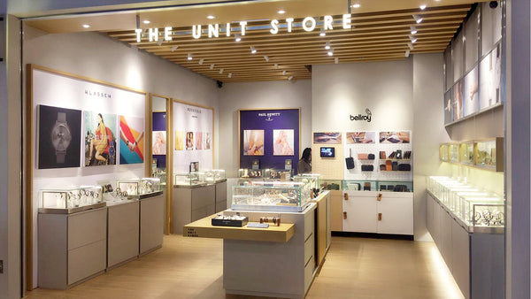 Arrive at The Unit Store in Hong Kong