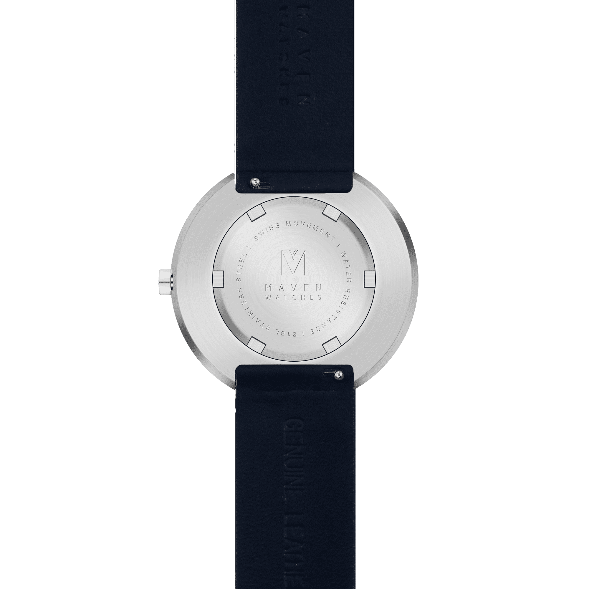Smoke Green Navy 34mm