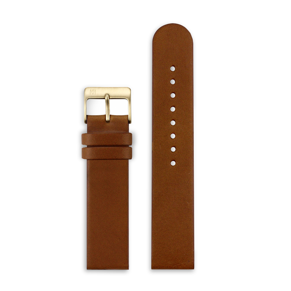 Brown Leather 20mm
