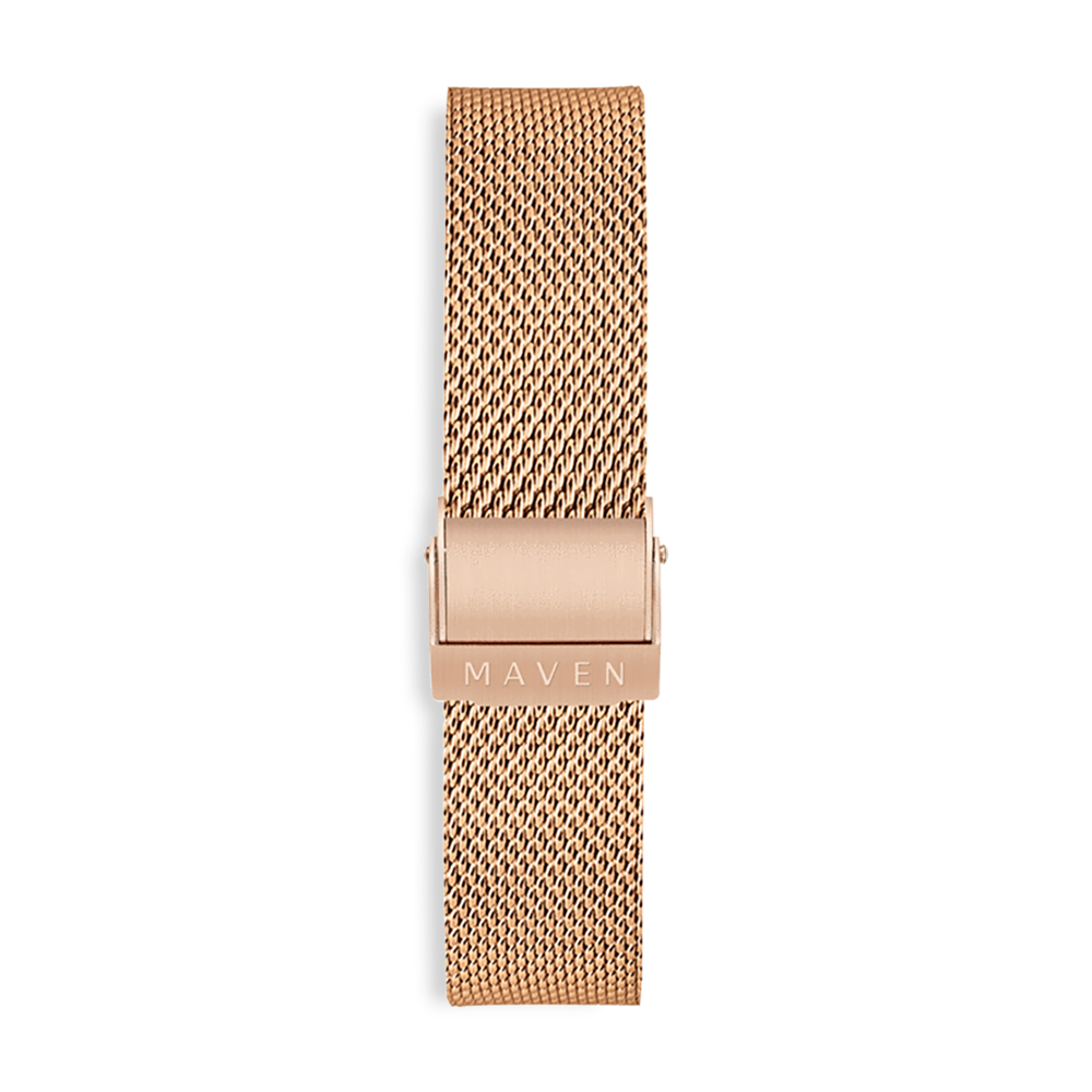 Rose Gold Mesh 20mm