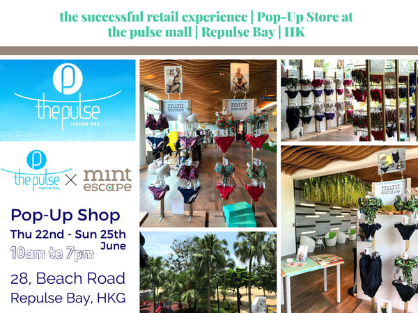 Mint Escape Swimwear Pop-Up at Repulse Bay