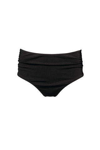 FIJI - High rise bikini bottom - Black