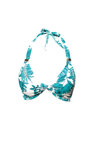S5 Phuket Tankini Top - Turquoise & St Barth basic bottom - turquoise swimwear tankini set