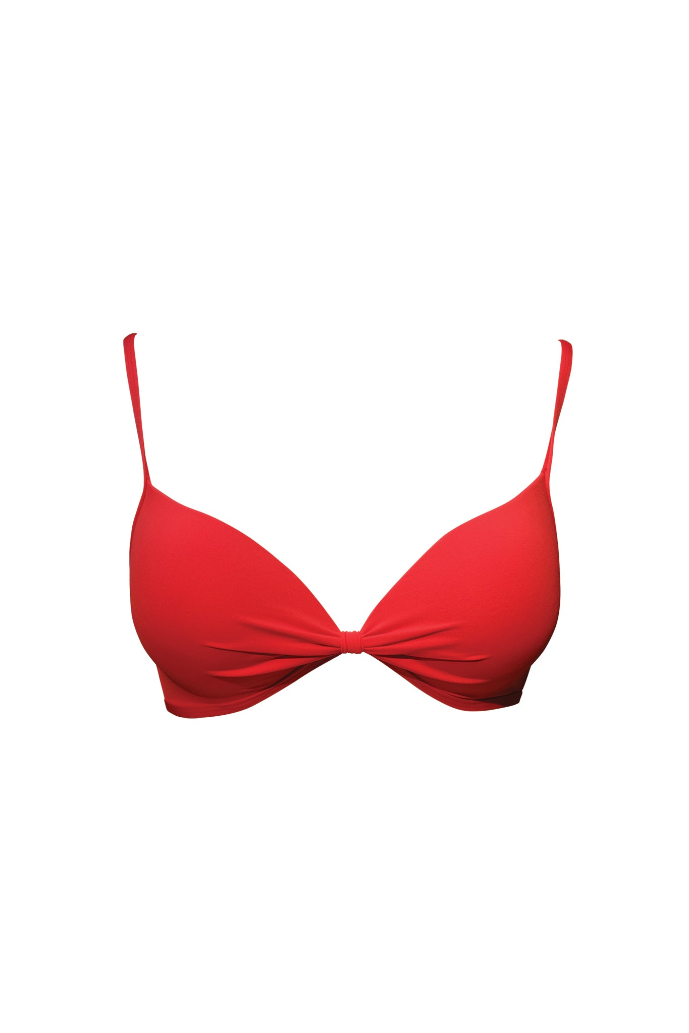 LANZAROTE - Push-Up Top - Red