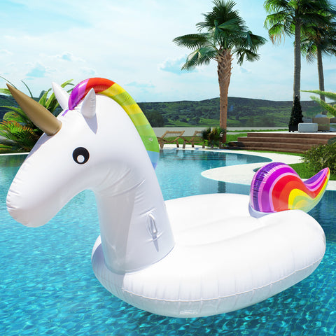 Giant Rainbow Inflatable Unicorn
