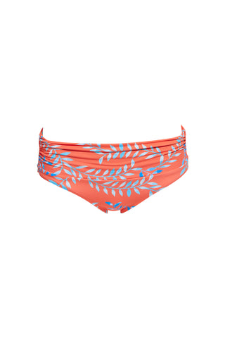 NISSI - swimwear triangle bikini top - Parrots Stripes