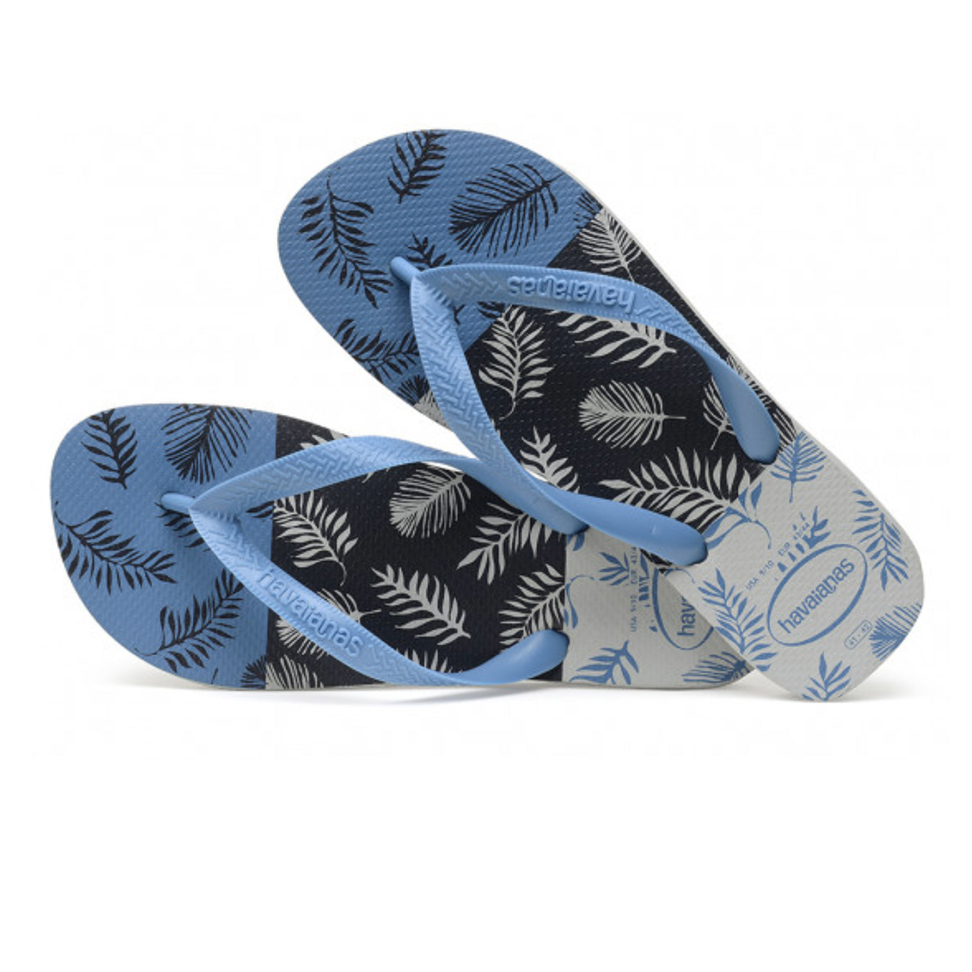 Havaianas flip flop - Men - Aloha- ice grey/steel blue