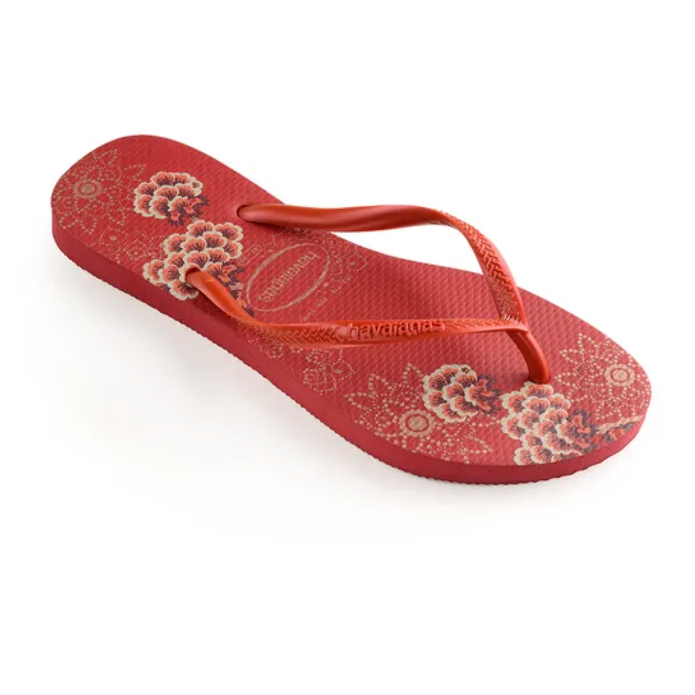 Havaianas flip flop - Ladies Slim organic - red