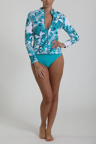 GOLD COAST - Rash guard - Hibiscus Dream