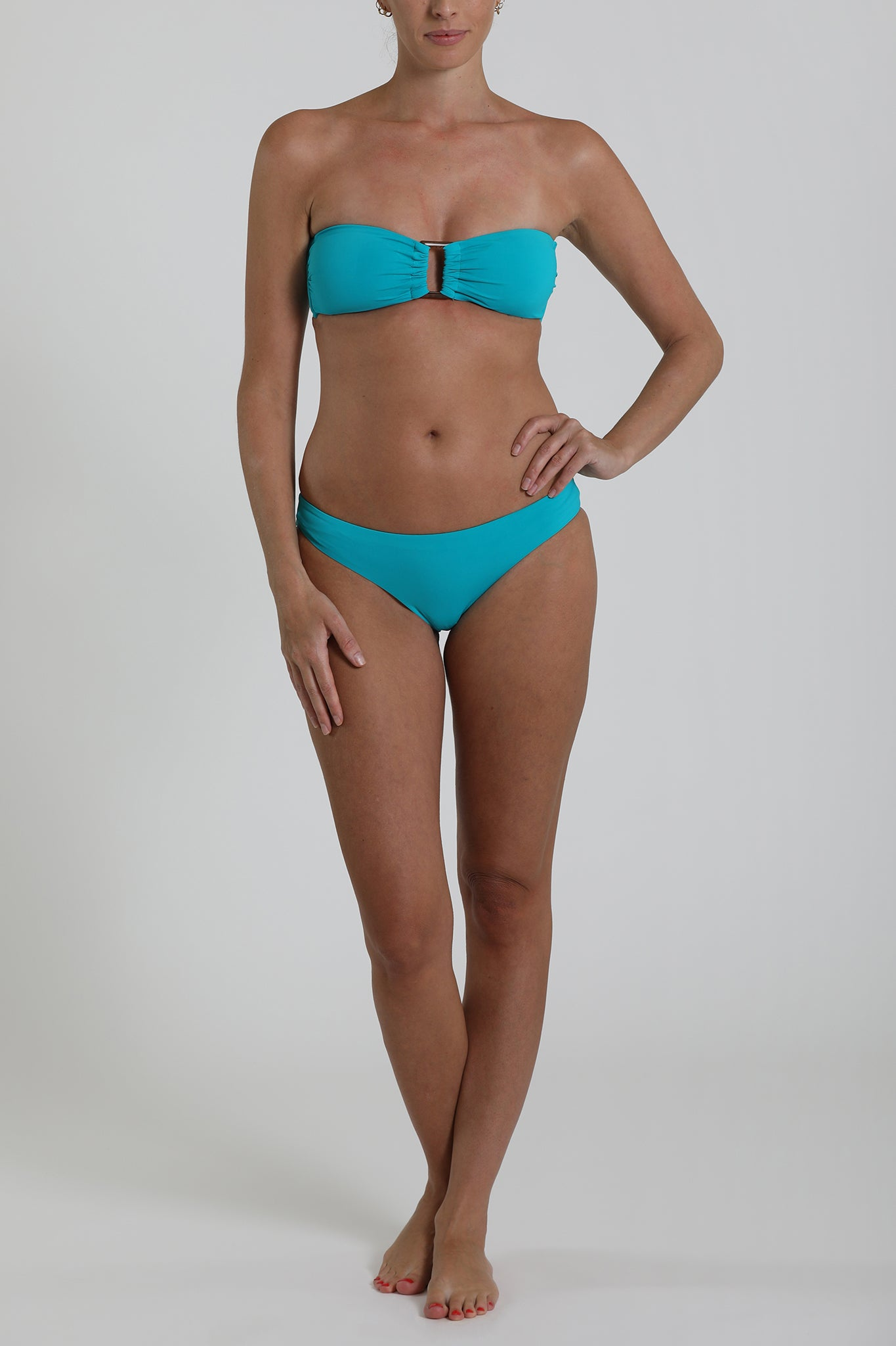 ST BARTHS - Hipster basic bottom - Turquoise
